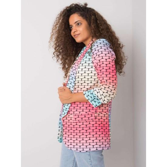 Дамско сако в син/розов цвят   Дамски Дрехи   Сака - Brando.bg