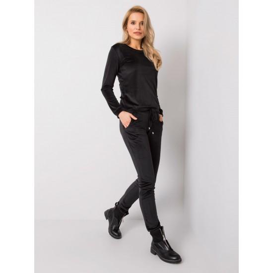 Дамски ежедневен комплект в черен цвят Rue Paris   Дамски Комплекти На Ниски Цени   Дрехи за жени   Brando.bg