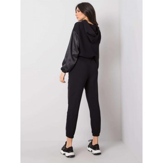 Дамски комплект в черен цвят Rue Paris   Дрехи за жени на ниски цени   Дамски Комплекти - Brando.bg
