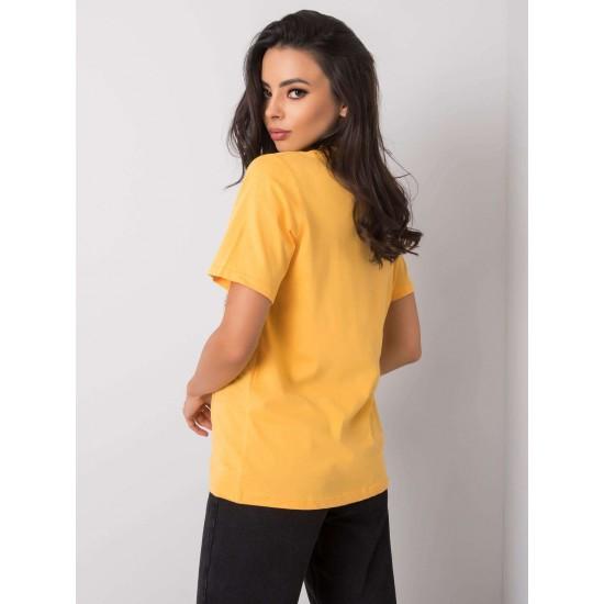 Дамска тениска в оранжев цвят   Дрехи за жени на ниски цени   Дамски Тениски - Brando.bg