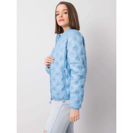 Дамско преходно яке в светло син цвят   Дамски Връхни Дрехи   Brando.bg