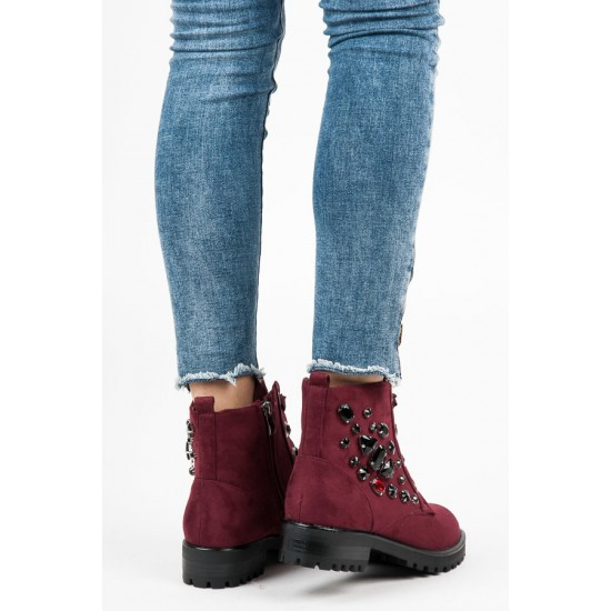 Дамски боти на нисък ток | Разпродажба на Обувки| Разпродажба на Обувки Онлайн - Brando.bg